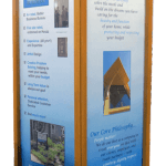 Photo of Kiosk of Acheson Builders' Methods for Home Remodeling & Construction