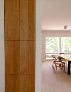 photo of custom cabinets with alder veneer