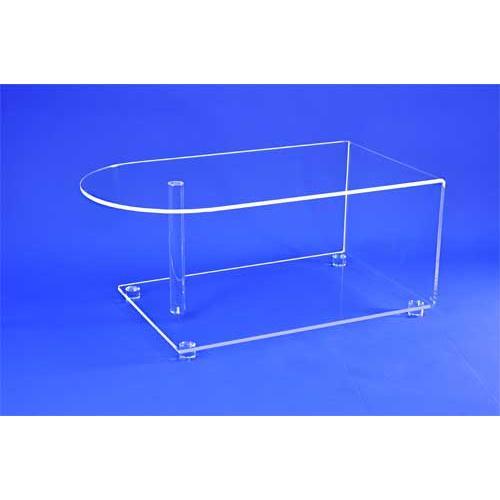 meuble tv transparent