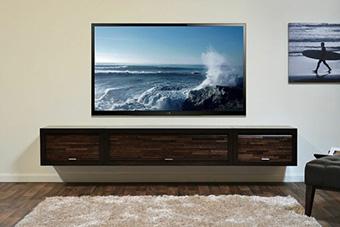 les televisions entre de plus de 108 cm