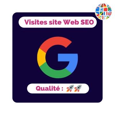 Le site N°1 Français pour acheter des visites sur un site internet / Booster le référencement naturel d'un site internet facilement