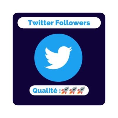 acheter des followers twitter meilleure qualité