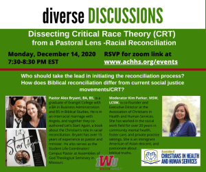 Critical Race Theory-racial reconciliation