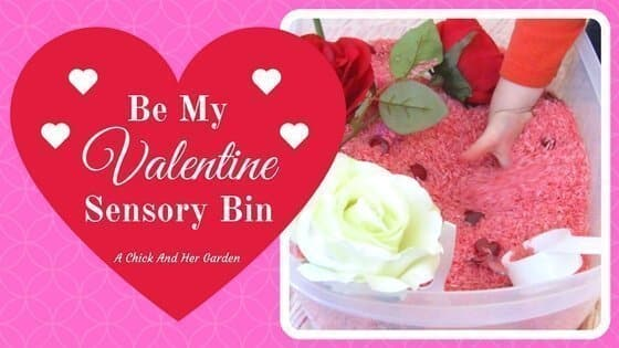 Be My Valentine Sensory Bin