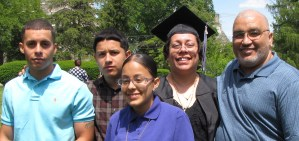 ACE Graduation Family