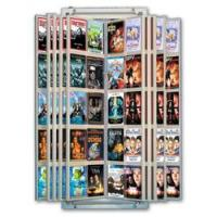 Wall Mount Retail DVD Flip Display for 100 DVDs - 1 per ...