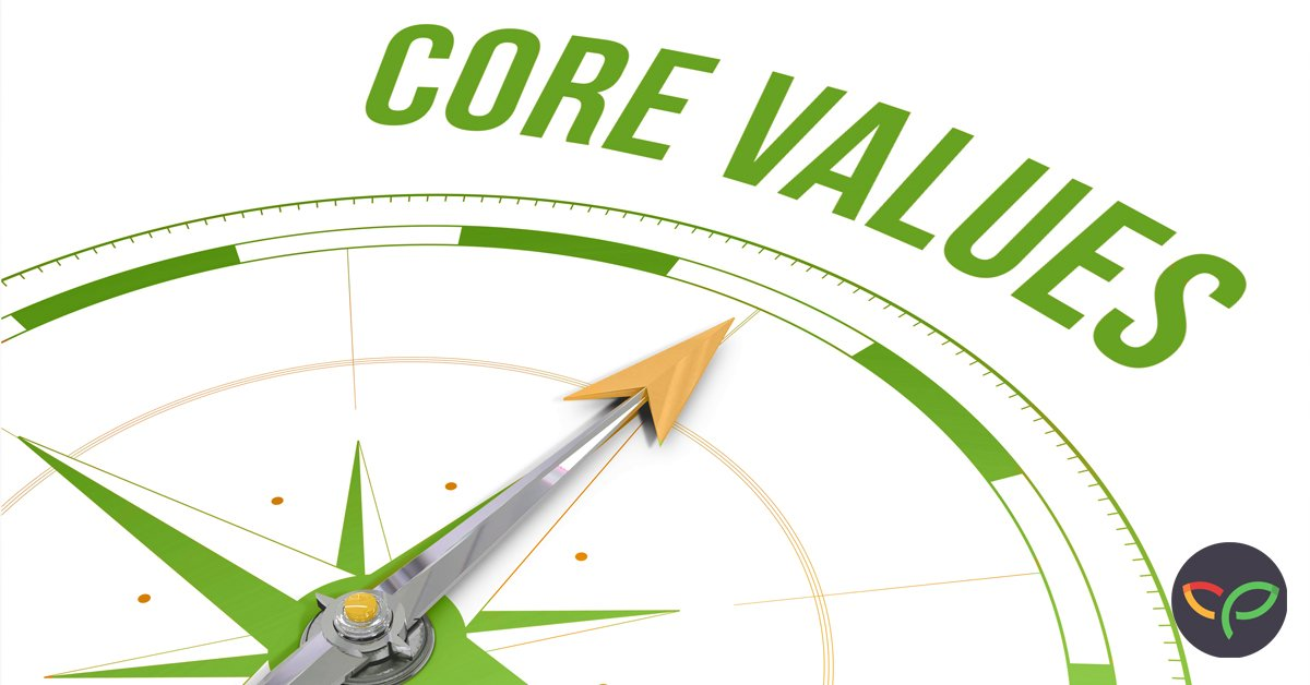 Core Values are your compass