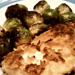 coconut chicken and brussel sprouts1