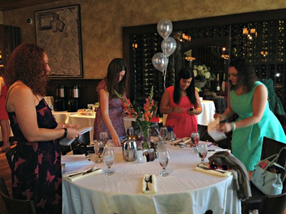 My bridal shower: Getting Ready