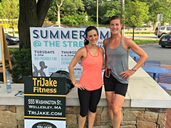 The Street: Me and Dawn