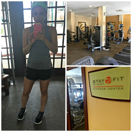 Aruba Honeymoon: Hyatt Gym