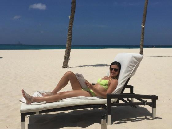 Relaxing in Aruba