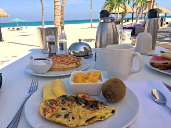 Aruba Honeymoon: Breakfast