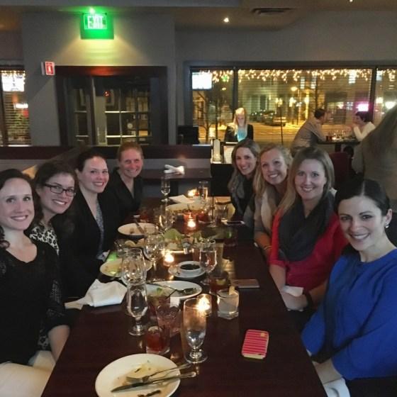 Boston Blogger Dinner at the Social