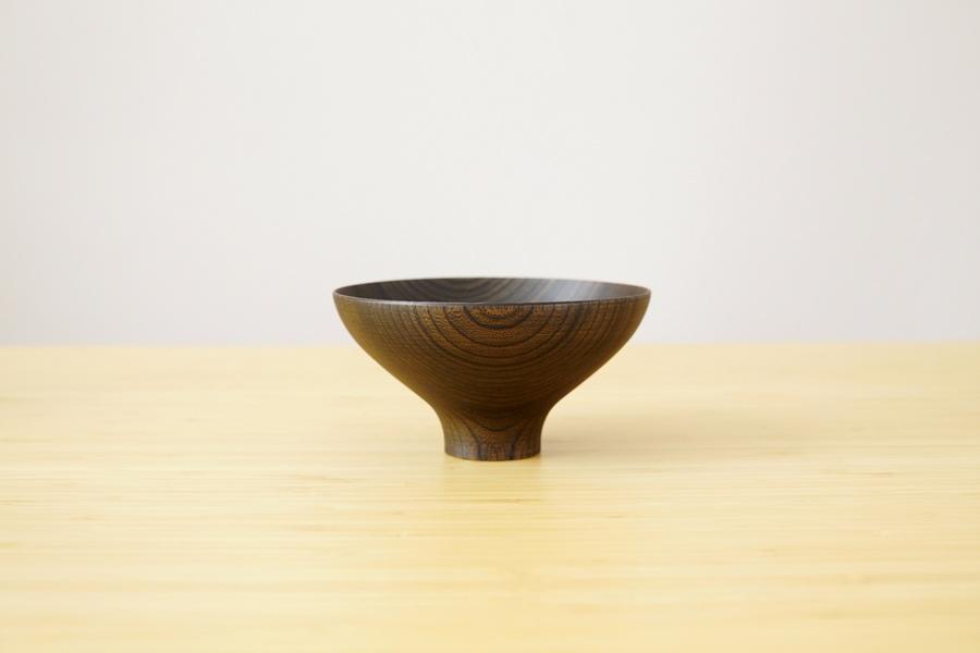 bol japonais aeka laque noir