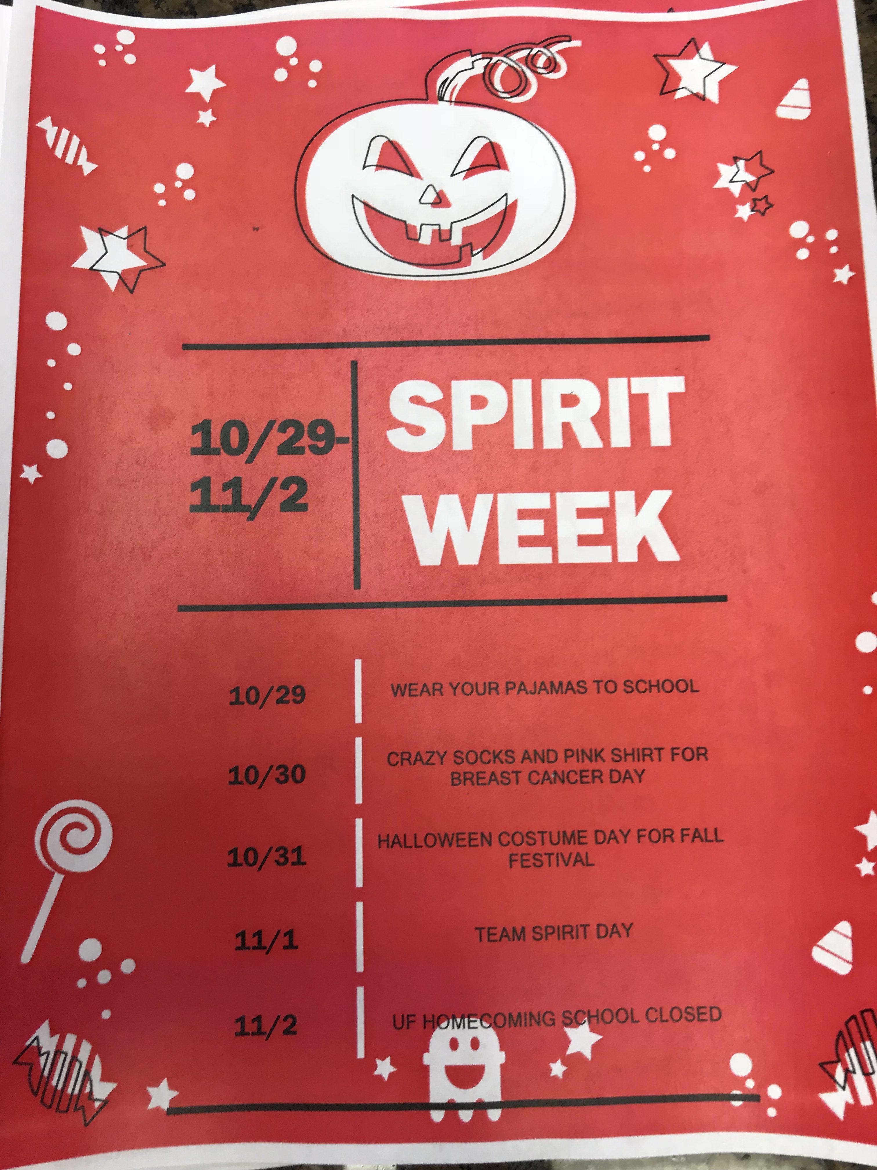 Halloween And Fall Festival Preschool Calendar And