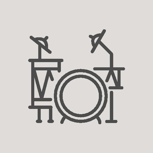 music lesson icon drums