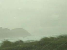 Keel: strong gale on New Year's Day