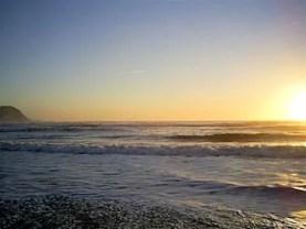 Keel Strand: sunset