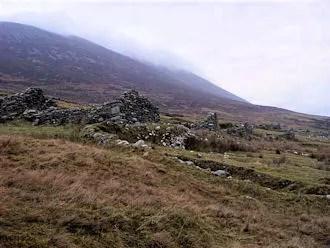 Keel: ruins of the Deserted Village