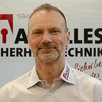 Enrico Achilles, Inhaber Achilles Sicherheitstechnik; Foto: Reichelt Kommunikationsberatung