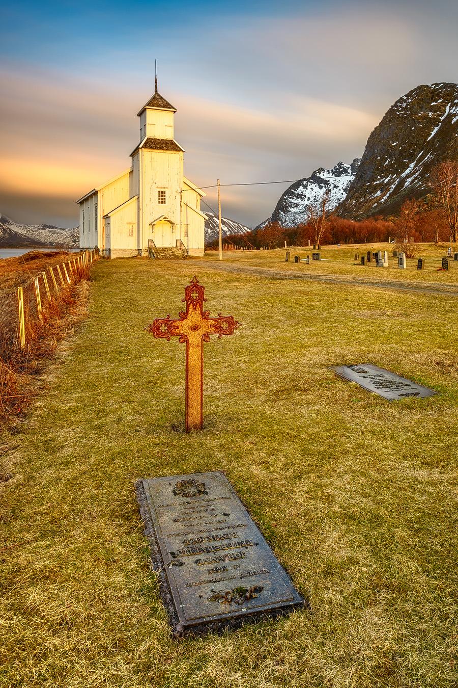 Gimsøy Kirchfriedhof
