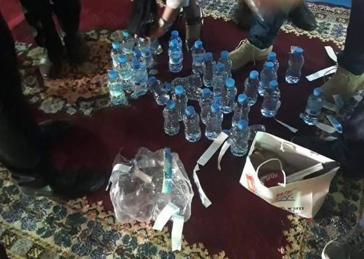 مؤتمر رفاق بنعبد الله يستعمل مياه شركة بنصالح (صورة)