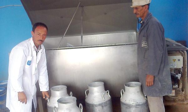 تعاونيات فلاحية تعتزم تقديم الحليب بالمجان دعما للمقاطعة