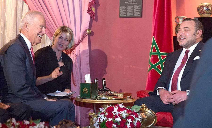 بايدن يلتمس من الملك محمد السادس التوسط بين الفلسطينيين والإسرائيليين