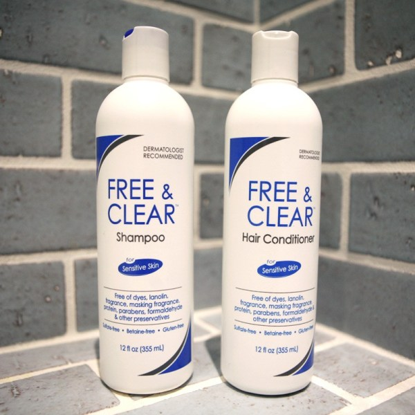 Free & Clear Hypoallergenic Shampoo And Conditioner