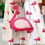 flamingo, acessorios, coisas, decoracao, roupas, bolsa