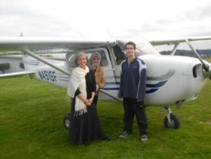 pamela's 50th birthday plane ride 3