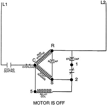 rv ac wiring diagram ls1 harness potential starting relays operation