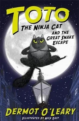 Toto The Ninja Cat And The Great Snake Escape by Dermot O'Leary ill. Nick East