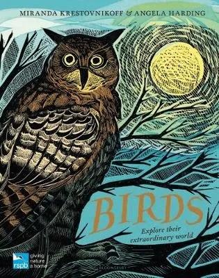 Birds by Miranda Krestovnikoff ill. Angela Harding