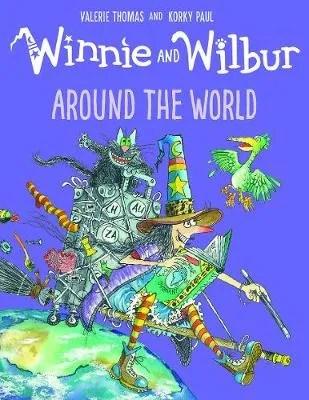 Winnie And Wilbur Around The World by Valerie Thomas & Korky Paul