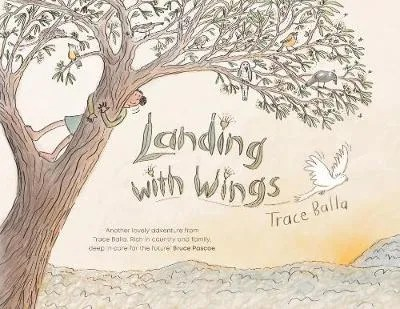 Landing with Wings by Trace Balla