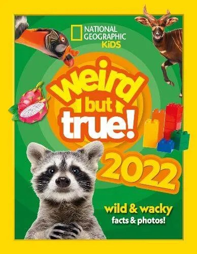 Weird but true! 2022: Wild and Wacky Facts & Photos! – National Geographic Kids