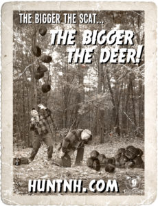 The bigger the scat, the bigger the deer.