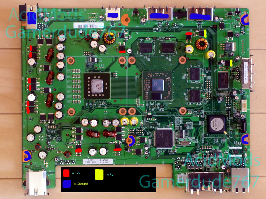 Xbox 360 Motherboard Id