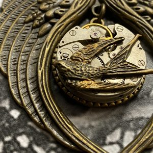 Wings Steampunk Necklace