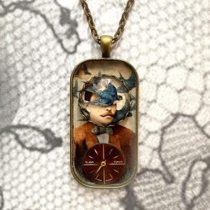 Man with Sparrow Necklace