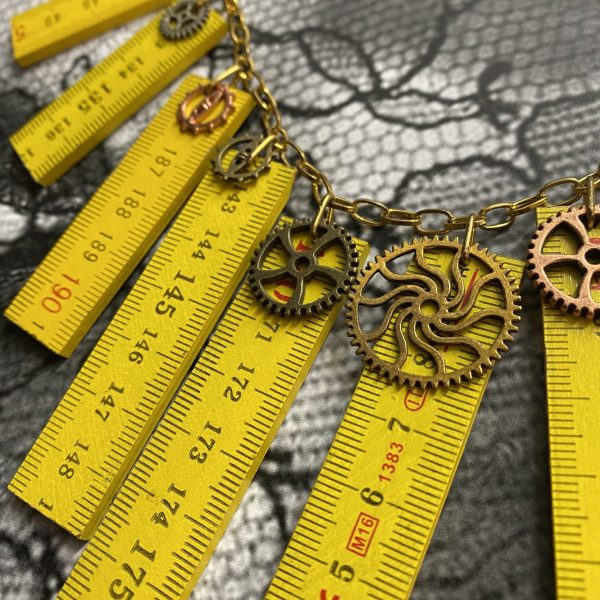 Wooden Meter Necklace