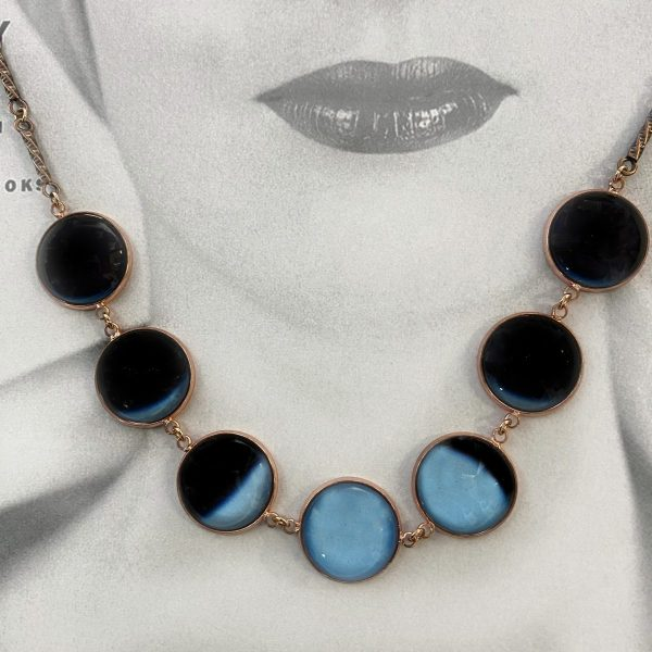 The Blue Moon Phases Necklace