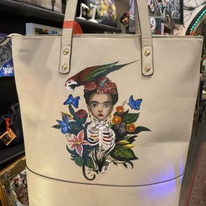 Frida Spring - Hand painted Bag