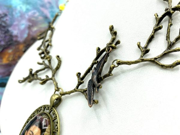The Wounded Deer of Frida Kahlo Necklace