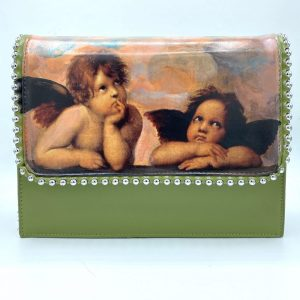 raffaello hand painted bag angels