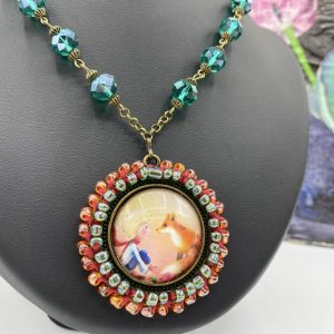 Little Prince and the Fox Necklace