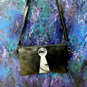 Hand Painted bag Fornasetti