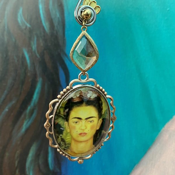 Frida Kahlo's Self-Portrait Earrings